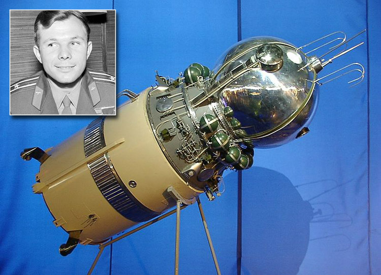 Yuri Gagarin's Vostok Spacecraft