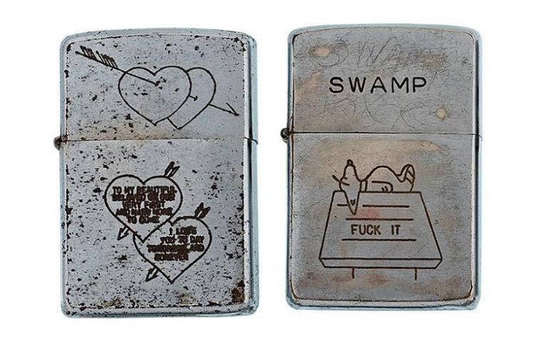 Zippo Lighter Engravings