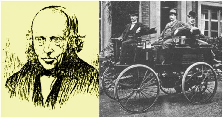 Robert Davidson/ Electric car built by Thomas Parker