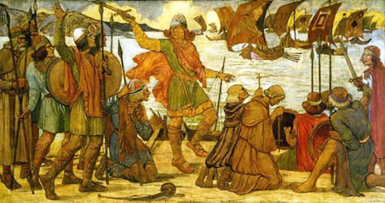 Vikings did not wear horned helmets