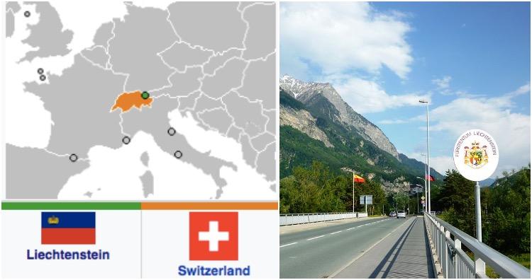 Swiss–Liechtensteiner border