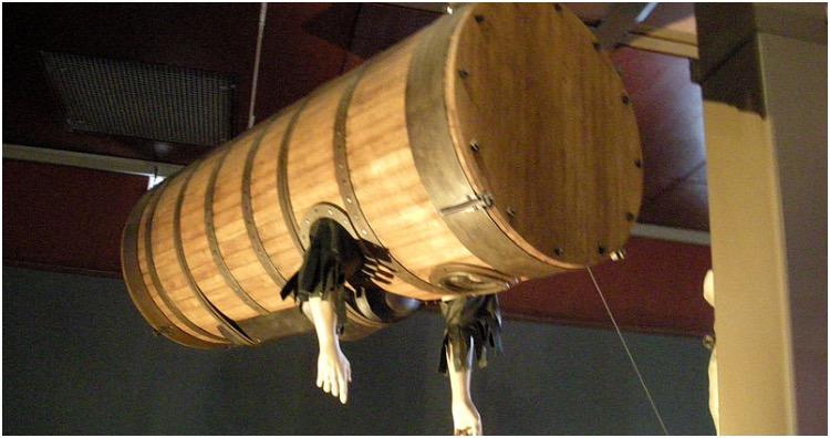 John Lethbridge barrel