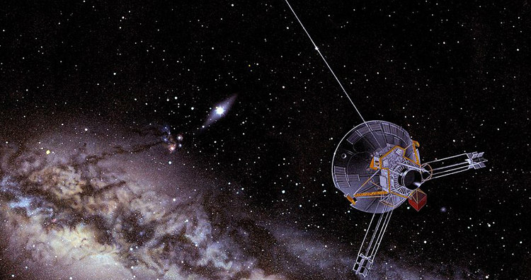 Artist's Impression of a Pioneer Spacecraft