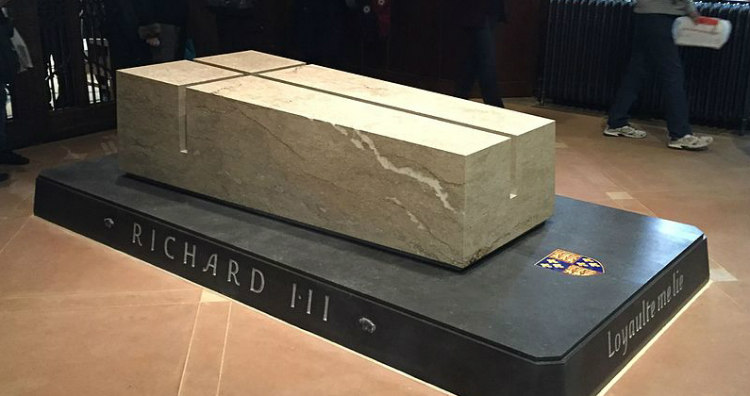 New Tomb of Richard III in Leicester Cathedral