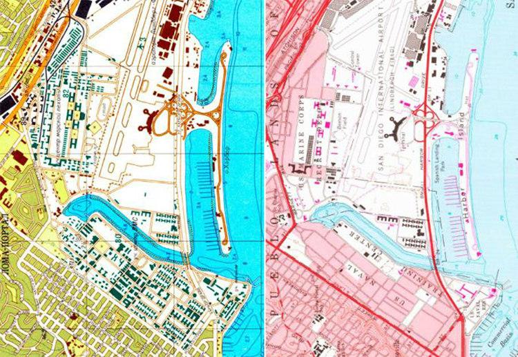 Soviet Map Vs US Map
