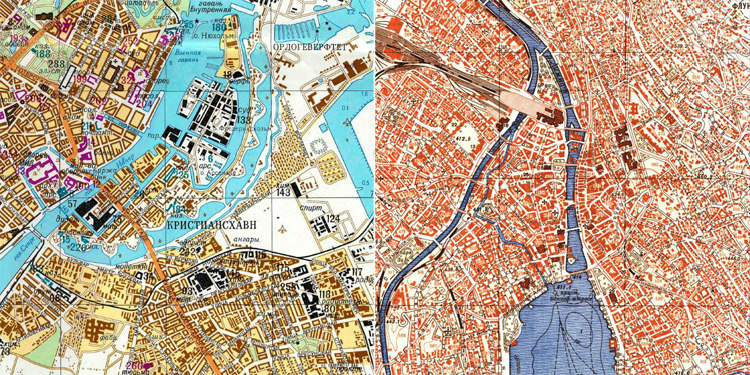 Soviet Maps