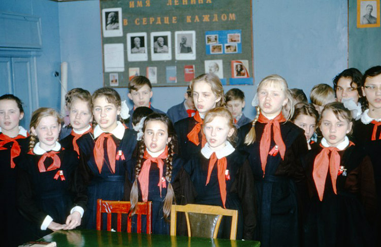 Soviet Students in 1964, Moscow