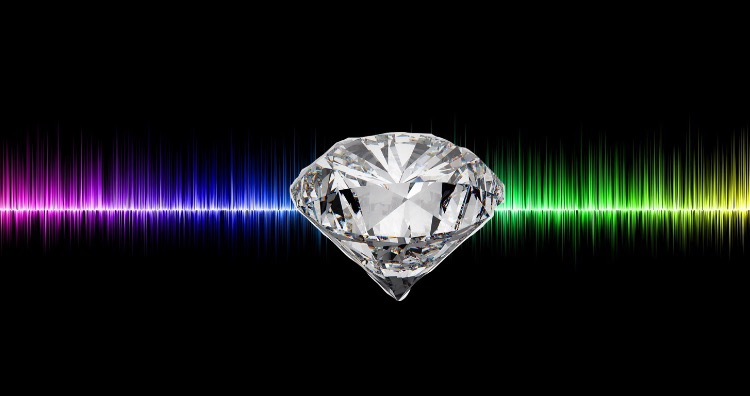 The speed of sound in diamond it's 26,843 mph