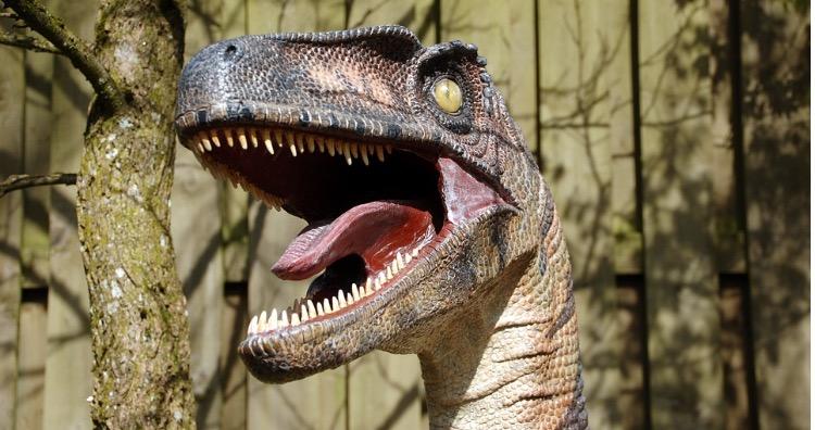 Dinosaurs never roared