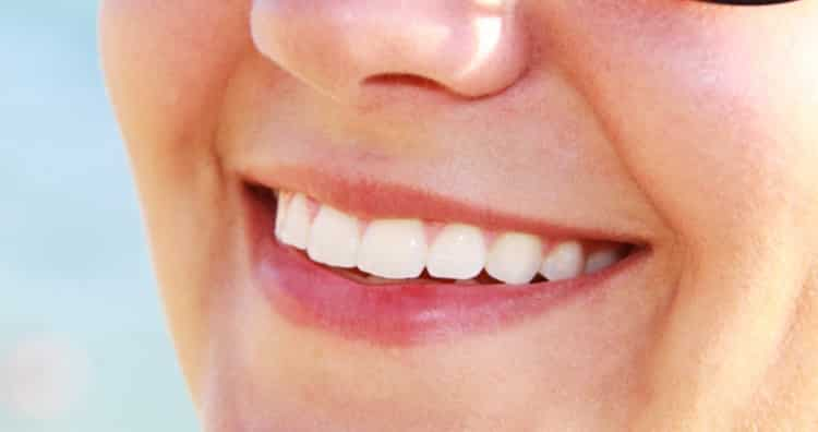 Teeth are not supposed to be extremely white