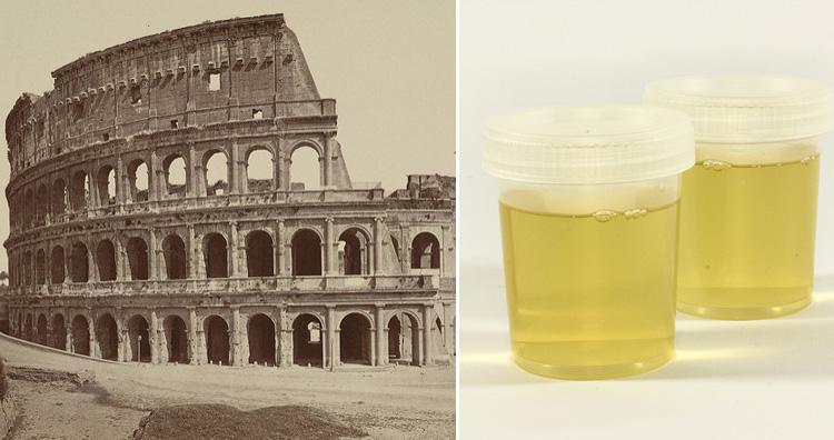 Urine as a bleach