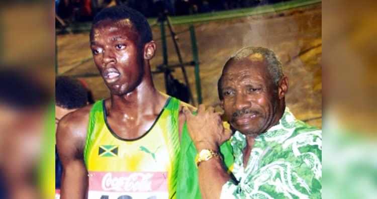 Usain Bolt's coach, Pablo McNeil