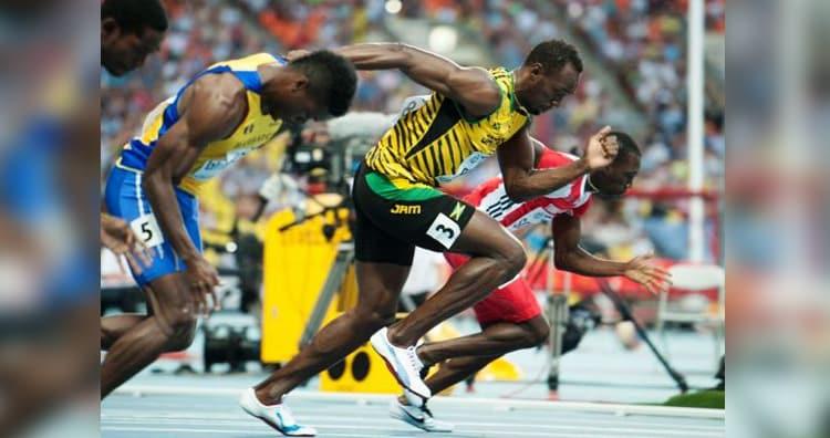 Bolt's gait