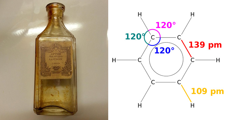 Benzene was used as an after-shave