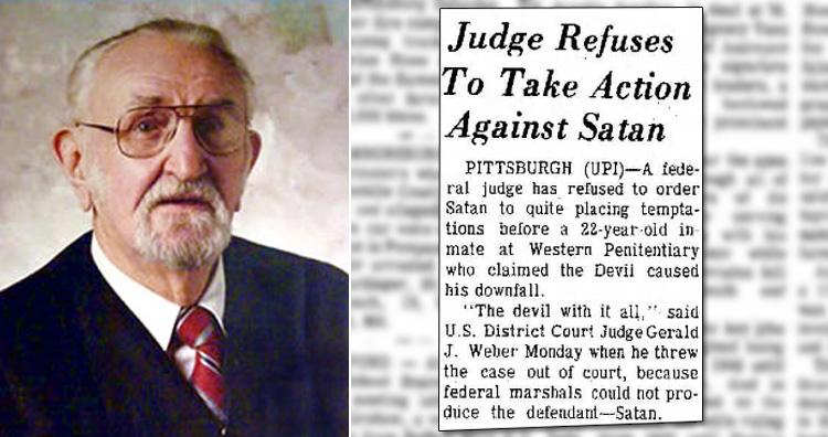 Judge Gerald J. Weber