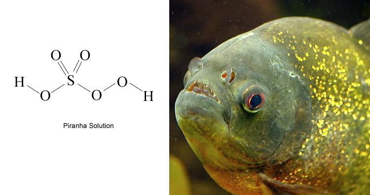 Piranha solution