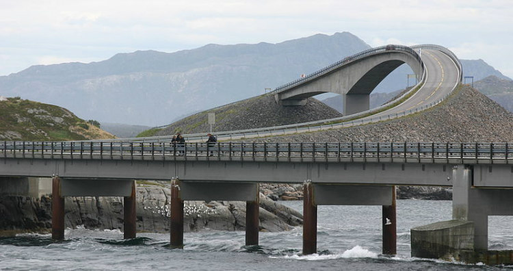 The Atlantic Ocean Road