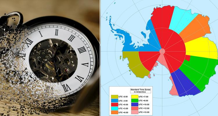 Antarctica time zone