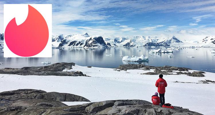 Tinder date in Antarctica