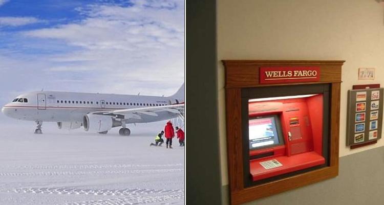 ATM in Antarctica