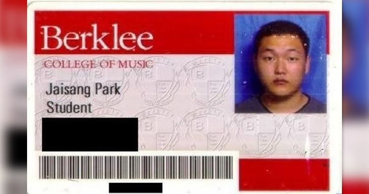 PSY college photo ID