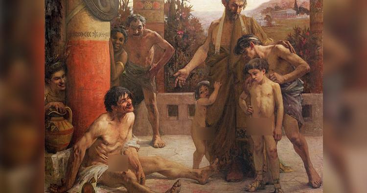 Spartans slave