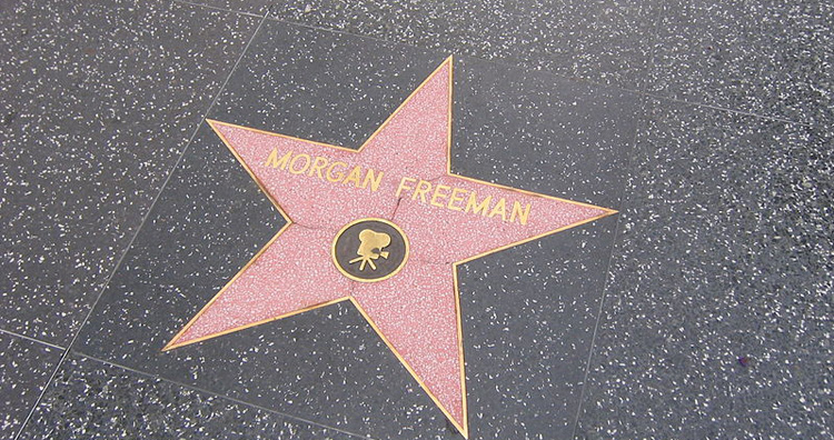 Morgan Freeman Walk of Fame
