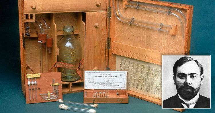 Alexander Bogdanov and Blood Transfusion Apparatus