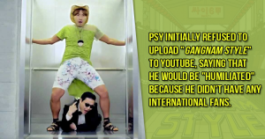 Facts about PSY
