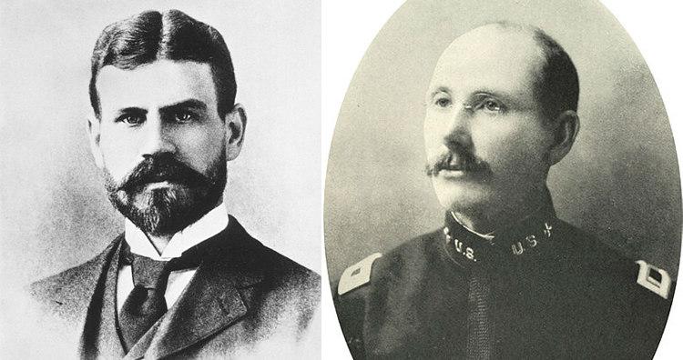Jesse William Lazear and James Carroll
