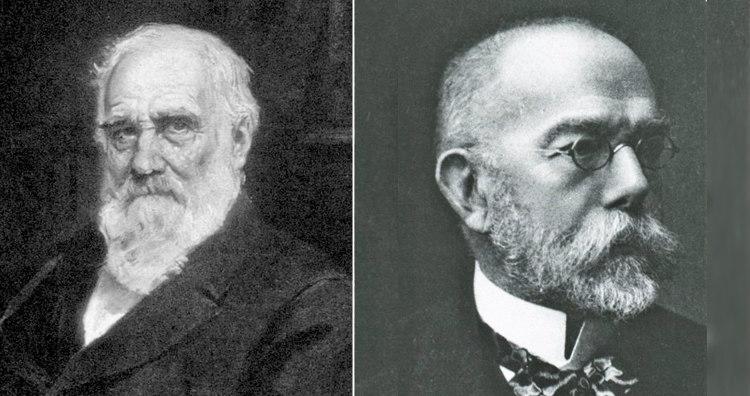 Max Pettenkofer and Robert Koch