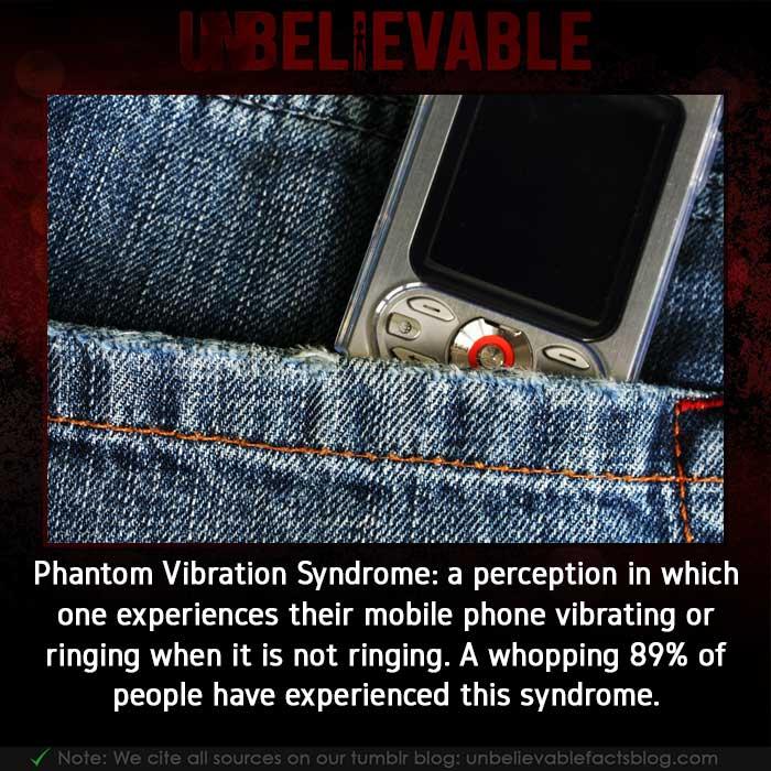 Phantom Vibration Psychological Phenomena