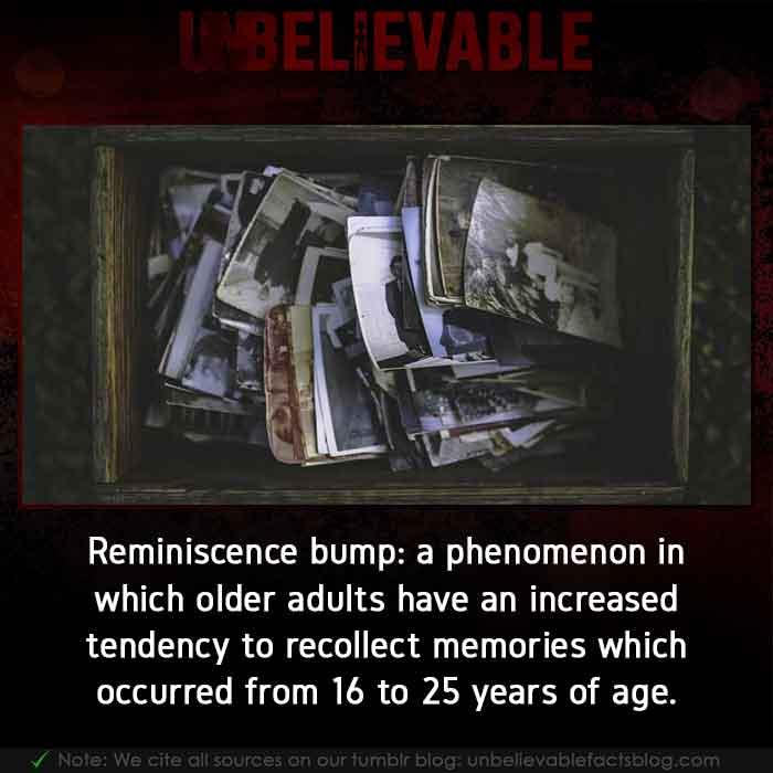 Reminiscence bump Phenomenon