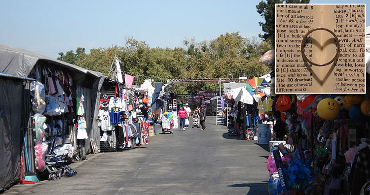 Flea Market in San Jose and a Wedding Ring
