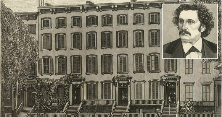 New York Office and Residence of C.L. Blood