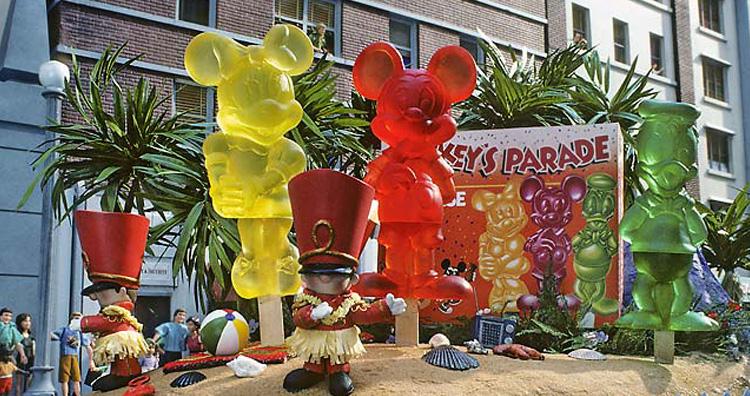 Mickey's Parade Pops