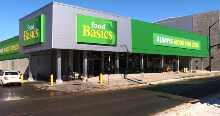 Food basics store