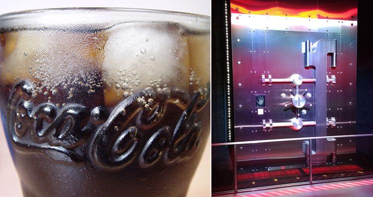 Secret formula of Coca-Cola