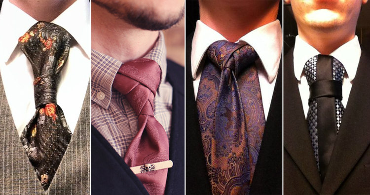 Types of Necktie Knots