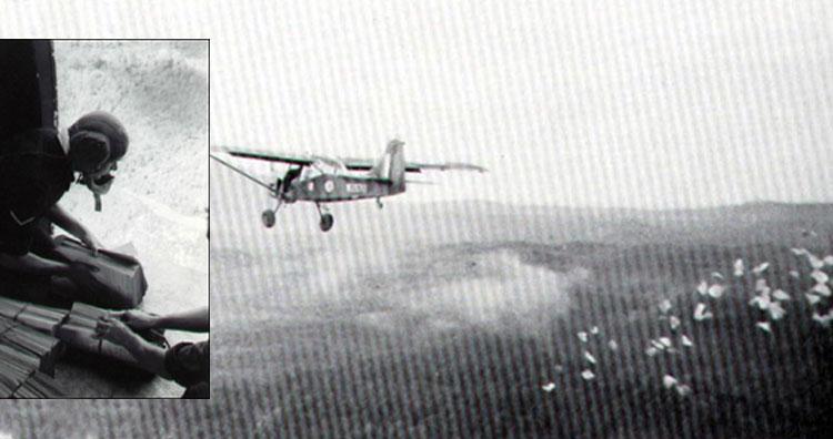 Airborne leaflet