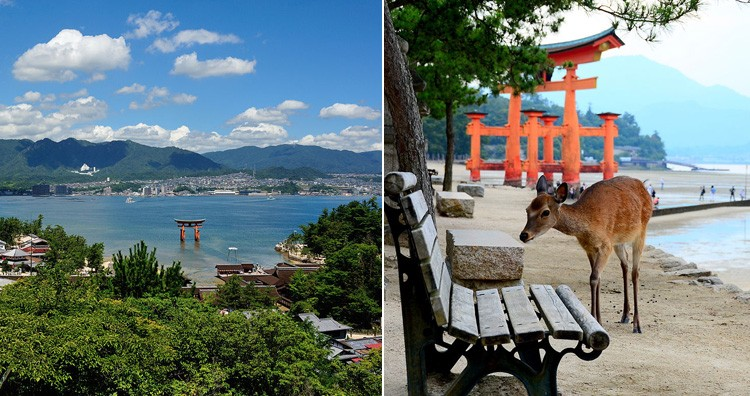 The Island of Itsukushima