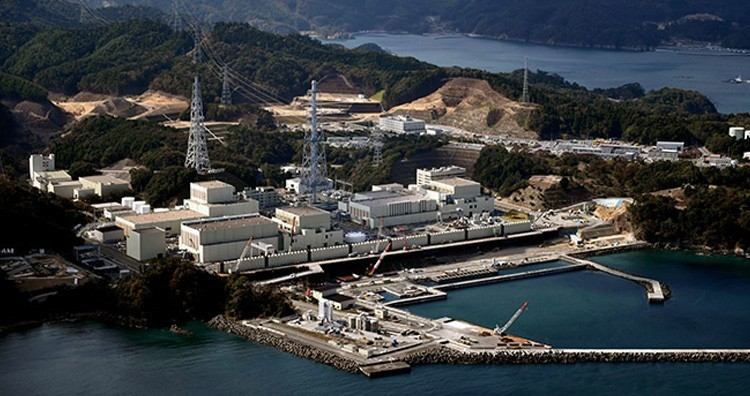Onagawa nuclear power plant