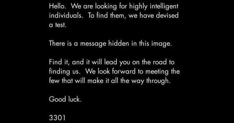 Cicada message