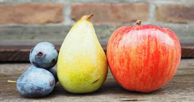 Apple, Plum, Pear