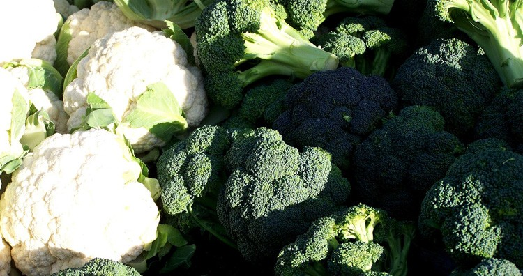 Cauliflowers and Broccoli