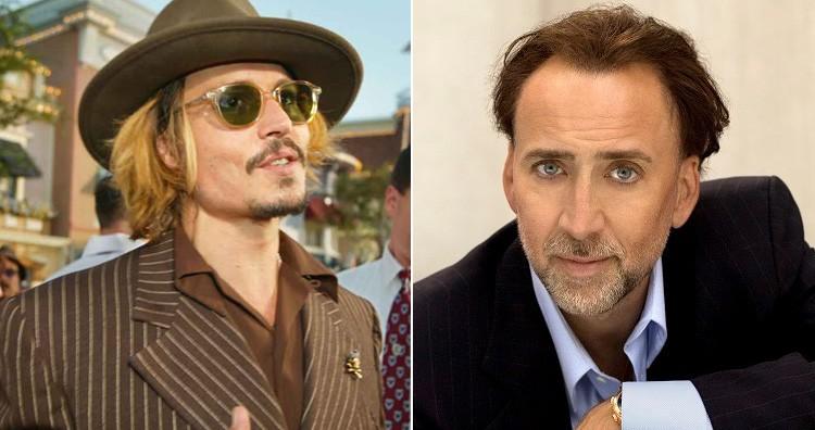 Nicolas Cage and Johnny Depp