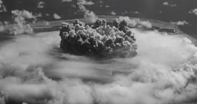 Nuclear test- Baker
