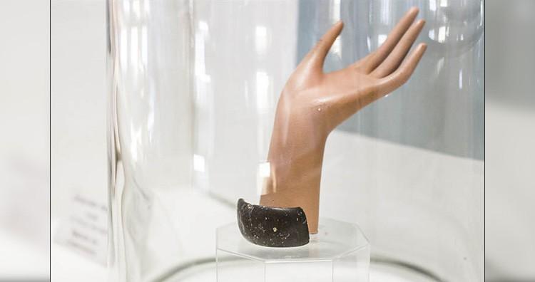 Bracelet in the museum
