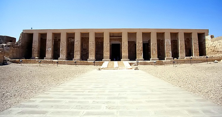 Temple of Seti I, Abydos, Egypt