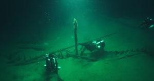 shipwrecks found at the bottom of the black sea